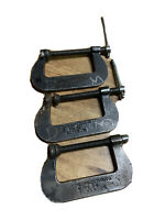 3 Pcs Cincinnati Tools C Clamps No 54,/USA , Super J R,,heat Treated Forged St.