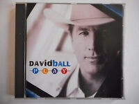 DAVID BALL : PLAY  || CD ALBUM