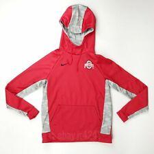 Nike Ohio State Buckeyes Digital Thermal Hoodie Women's Medium Red $110 846364