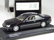 (KI-03-21) Minichamps 430038022 Mercedes CL 500 Coupé 1999 schwarz 1:43 in OVP