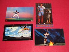 1985 NIKE SHOE STORE PROMO CARDS LOT OF 4 JOHN MCENROE, GOODEN, LOFTON & PARRISH