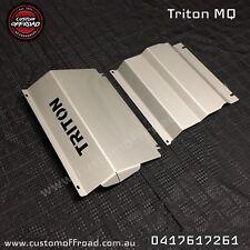 Triton MQ (2015 - 2017) 3mm Stainless Steel 2pce Bash Plate Set