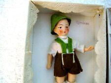 Antique Vintage All Bisque Doll Original + Box Dollhouse Miniature