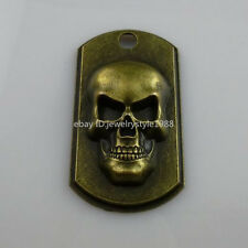 10206 6PCS Skeleton Skull Hand Ghost Specter Charm Alloy Large Pendant Jewelry
