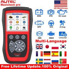AUTEL MaxiCheck Pro ABS SRS SAS OBD2 Auto Diagnostic Scanner Tool Code Reader