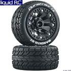 Duratrax C5105 Bandito 2.2 St & Buggy Rear Tires Mounted Black Wheels