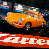 "MODELLAUTOS CARRERA 132 UNI UNIVERSAL ""PORSCHE 911 orange""   fast neuwertig  OVP"