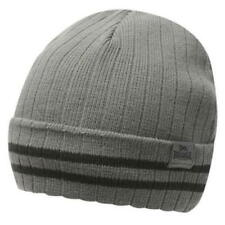 Lonsdale Turn Up Hat Junior Charcoal