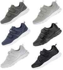 Herren Damen Sneaker Sportschuh Freizeit Schuhe Klettverschluss Turnschuhe 5786