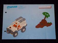 Playmobil Bauanleitung Offroad Pick Up 3219 von 2003 ! ( No.30891432 ) !