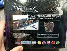 Sabrent TV-USB20 TV Tuner/Video Capture Box With Remote Factory Sealed