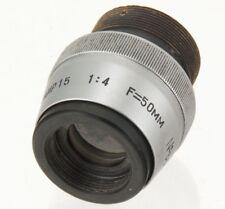 Vtg TAIR-15 50mm f/4 USSR Projection Special lens 4K HD MFT M4/3 BMPCC RARE 1955