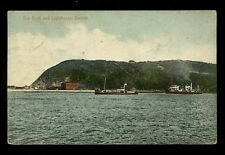 South Africa DURBAN The Bluff and Lighthouse 1910 PPC