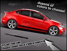 Dodge Dart 2013 14 15 Rocker Racing Stripes Graphics Fits Other Cars! Srt8 Rt