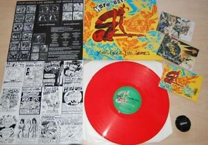 Hard Ons – Your Choice Live Series  -  Brand new Ultra Rare Red Vinyl LP Album
