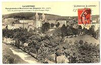 CPA 07 Ardèche La Louvesc Vue générale et Boulevard des Elégants