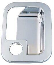 Pair of Kenworth late model Chrome door handle Surround/Inserts