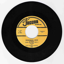 DOO WOP 45 FOUR BROTHERS & A COUSIN WHISPERING WIND ON JAGUAR  STRONG VG
