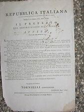N607-PERIODO NAPOLEONICO-NOVARA SUGLI OSTI E ALBERGATORI