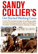 DVD Get Started Working Cows Sandy Collier Horse Cutting Stock Cow Training