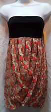 Alice and Olivia NWT by Stacey Bendet Size 6 Strapless Mini Dress Orange 20% OFF