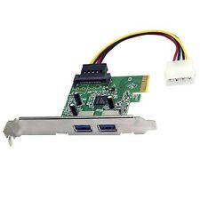 HP Original 2 Port SuperSpeed USB 3.0 PCI Express x1 Controller Card