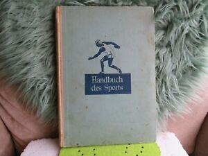Handbuch des Sports 1932 Sanella 32 einkleb Bilder Berlin Wilmersdorf 119 Seite