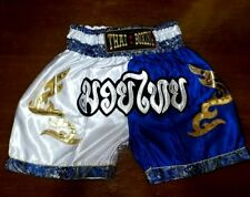 Muay Thai Boxing Shorts Kid Children Trousers Trung Fight Grappling Sport Gym