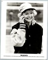 Wildcats: 1986 Warner Bros Goldie Hawn Vintage 8x10 Movie Still Photo Photograph