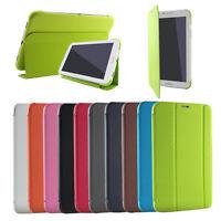 per SAMSUNG Galaxy Tab4 8.0 SM-T331 T330 Custodia Cover Sottile Auto Wake Sleep