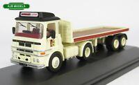 BNIB OO GAUGE OXFORD 1:76 76LV005 ERF LV Flatbed Lorry Scottish & Newcastle