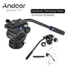 Andoer Professional Photography Video Head Fluid Drag Tilt Hydraulic D3M4
