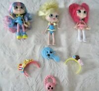 "Shopkins Doll Lot (2) ~ Shopkins Shoppies 5""  Rainbow Kate~Popette~Donut Delight"