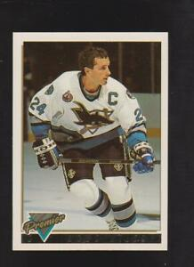 1993-84 Topps Premier Gold #77 Doug Wilson card, Chicago Black Hawks HOF