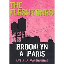 "FLESHTONES DVD NEUF""Brooklyn à Paris"" 23 songs 7 camera+Chauzy dessin livret 4p"