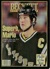 2018 Upper Deck Beckett Hockey Exclusive Metal Mario Lemieux  Card Print Plate