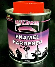 ENAMEL HARDENER 250ML MOTOSPRAY HICHEM SPRAY AUTOMOTIVE PAINT CAR BODY REPAIR