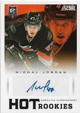 2013-14 SCORE HOT ROOKIES SIGNATURE #600 MICHAEL JORDAN