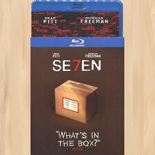 David Fincher Se7En Iconic Moments Blu-Ray Morgan Freeman Seven Brad Pitt 0927