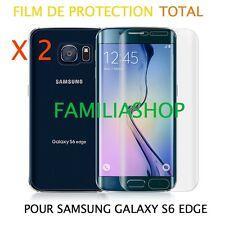 Lot 2 Films protection protège écran entier incurvé pour Samsung Galaxy S6 Edge