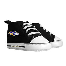 Baltimore Ravens NFL Pre-Walker Hightop Baby Shoes