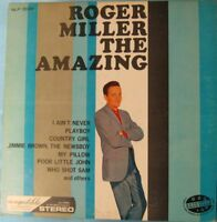 ROGER MILLER The Amazing stereo vinyl record LP NLP 2046 stereo