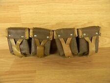 TWO RUSSIAN SURPLUS MOSIN NAGANT  AMMO POUCHES M38 M44 T53 M91/30 7.62x54r