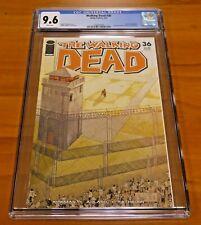 The Walking Dead #36 Image Comics 2007 CGC Graded 9.6 Pin-up Back Cover Rathburn