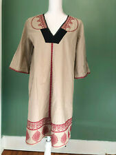 NWOT Cotton Hoss Intropia Embroidered Summer Dress - Never Worn Sz 40 M