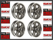 "Z28 YEARONE 5 spoke rally Wheels 17"" x 8"" Gunmetal Gray Kit GZW1784K"