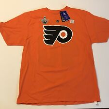 NWT Reebok NHL Philadelphia Flyers Vincent Lecavalier Stanley Cup 2014 Shirt XL
