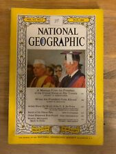 NATIONAL GEOGRAPHIC 1960 May Message From The President,Us Air Force,Brasilia