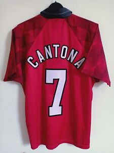 BNWT AUTHENTIC Manchester United Home Shirt 1996/97 Size Y CANTONA