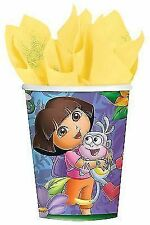 Dora The Explorer 8pk Paper 260ml Party Cups